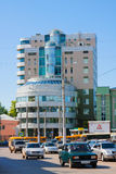 Samara city, street Royalty Free Stock Photo