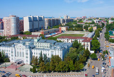 Samara city, street Royalty Free Stock Photography