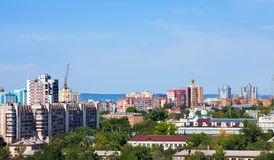 Samara city, street Royalty Free Stock Image