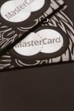 Samara, lipiec 25 2016: MasterCard przywileju kredytowa karta Zdjęcie Stock