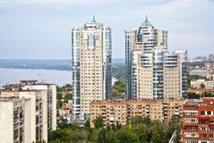 Samara op bovenkant Stock Foto's