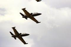 Samara Rosja, Wrzesień, - 11, 2016 lotnictw grupowi aerobatics Zdjęcie Stock