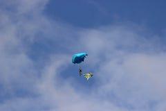 Samara Rosja, Wrzesień, - 11, 2016 skydiver Fotografia Royalty Free
