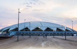 Samara Arena football stadium Stock Image