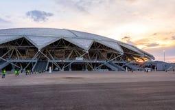Samara Arena football stadium. Samara, Russia - May 16, 2018: Samara Arena football stadium. Samara - the city hosting the FIFA World Cup in Russia in 2018 stock image