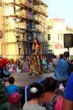 Samara, Russland - 22. August 2014: die musikalische Leistung Unkno Lizenzfreie Stockbilder