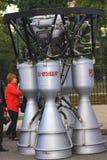 Samara, Russland - 11. September 2016 Rocket Engine Lizenzfreie Stockfotos