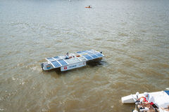 Samara University solar boat Stock Photography
