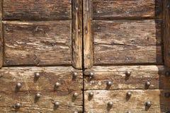 Samarate Lombardia di legno chiusa astratta Italia Varese fotografia stock libera da diritti
