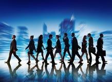 Samarbete Team Teamwork Professional Concept för affärsfolk Royaltyfri Bild