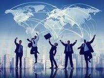 Samarbete Team Teamwork Professional Concept för affärsfolk Fotografering för Bildbyråer