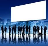 Samarbete Team Teamwork Professional Concept för affärsfolk Royaltyfri Foto