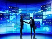 Samarbete Team Teamwork Professional Concept för affärsfolk Arkivbild
