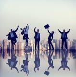 Samarbete Team Teamwork Professional Concept för affärsfolk Arkivfoto