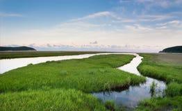 Samarga河14 库存图片