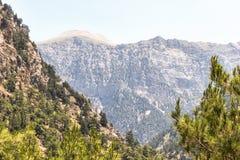 Samaria峡谷  免版税库存图片