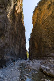 samaria острова Греции gorge Крита Стоковые Фото