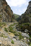 Samaria Canyon. Royalty Free Stock Images