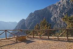 Samaria gorge Stock Photo
