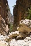 samaria gorge Стоковые Изображения RF