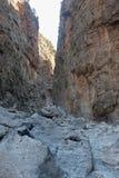 Samaria Gorge Canyon, Crete, Greece Stock Photos