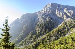 Samaria Gorge, Crète, Grèce image stock