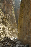 Samaria Gorge. Crete, Greece Stock Image