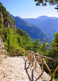 Samaria Gorge, Eiland Kreta, Griekenland royalty-vrije stock afbeeldingen