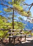 Samaria Gorge, Eiland Kreta, Griekenland Stock Afbeeldingen