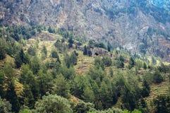 Samaria Gorge en Grecia imagen de archivo libre de regalías