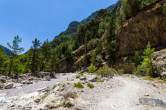 Samaria Gorge. Royalty Free Stock Photos