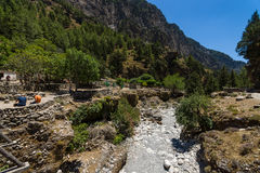 Samaria Gorge. Stock Photography