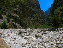 Samaria Gorge, Crete, Greece Royalty Free Stock Photo