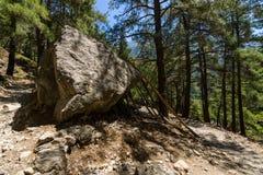 Samaria Gorge. Stock Images