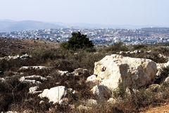 Samaria hills Royalty Free Stock Photo