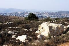 Samaria hills Royalty Free Stock Photo