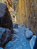 Samaria iron gate Royalty Free Stock Photos