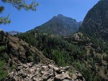 Samaria national reserve, Crete, Greece royalty free stock photos