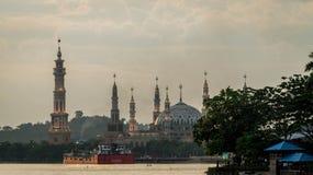 Samarinda islamisk mittmoské, Indonesien Fotografering för Bildbyråer