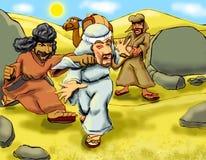 Samaritan beating Stock Photos