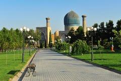 Samarkand: alte Moschee stockfotos