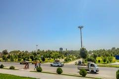 Samarkand Amir Temur Park 02 foto de stock royalty free