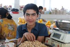 Samarkand bazaar Royalty Free Stock Image