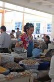 Samarkand bazaar Stock Image