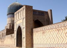 Samarkand Bibi-Khanim Dome 2007 Royalty Free Stock Photos