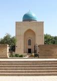 Samarkand Bibi-Khanim mausoleumingång September 2007 Royaltyfri Bild