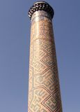 Samarkand Bibi-Khanim Minaret 2007 Stock Photo