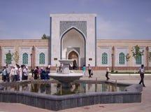 samarkand Complexo memorável da imã Al-Bukhari Imagens de Stock