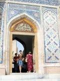 Samarkand entrance of Shakhi-Zindah 2007 Stock Image