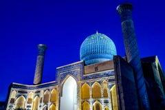 Samarkand Gur-e Amir Mausoleum 35 stock photo